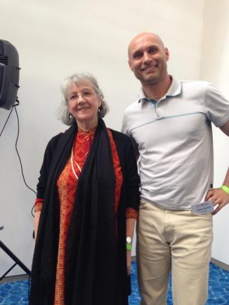 With Susane Cook Greuter, Ph.D.