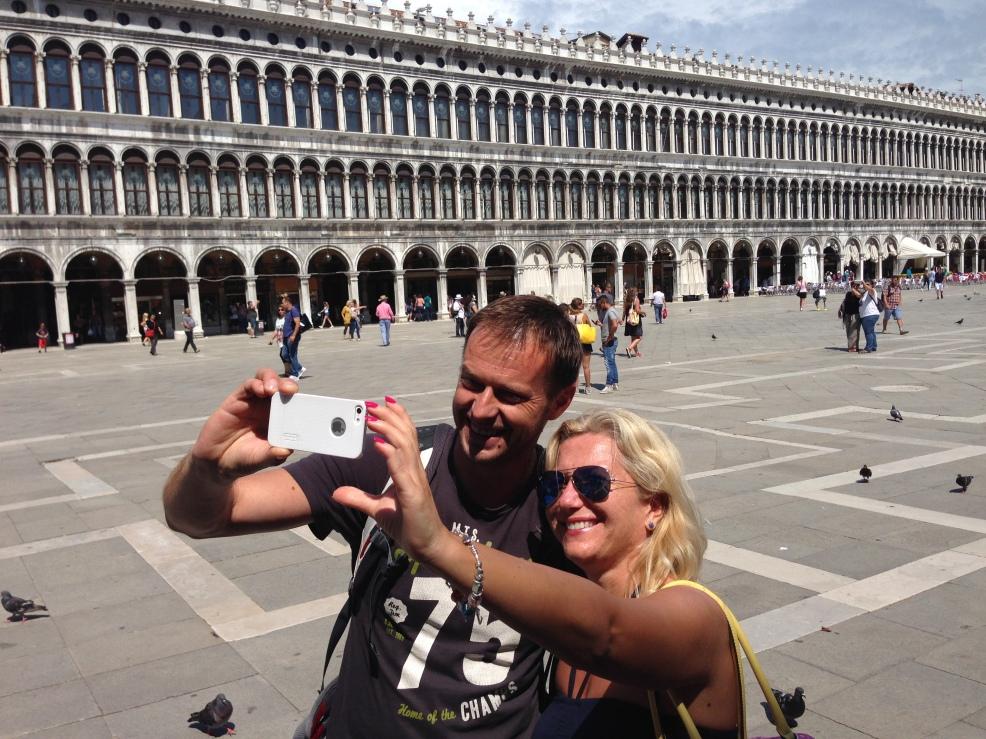 Sanja and Goran in Venice together