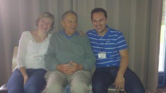 With Stan Grof, Ph.D.