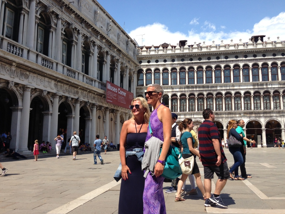 Sanja and Daniela in Venice together