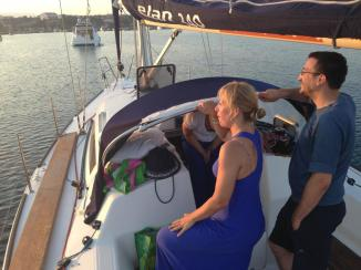 Sailing, Mirna and Boris