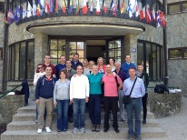 Faculty and Students on Mount Medvednica