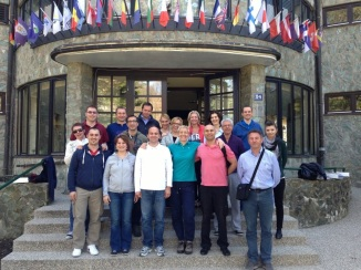Faculty and Students on their module at Mount Medvednica, HR-EU