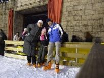 Ice skating with Ivona