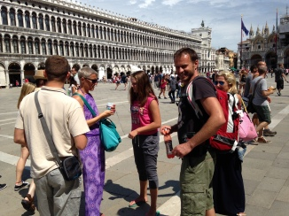 Peer group visit to Venice