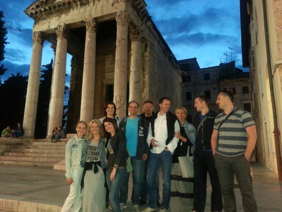 Out in Pula together