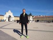 Running in Lisbon