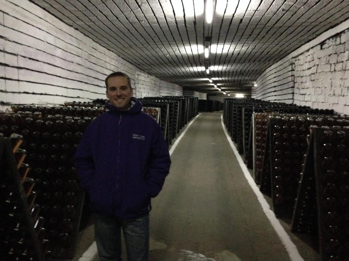 Cricova - the second largest wine cellar in Moldova (120 km of underground tunnels)