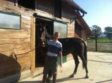 Horseback riding at Mirnovec