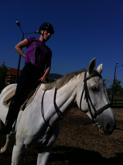 Horseback riding at Mirnovec
