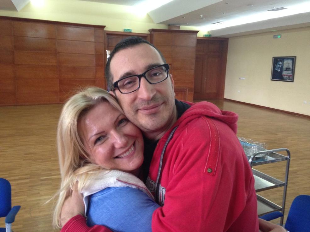 Sanja and Boris, mentoring pair