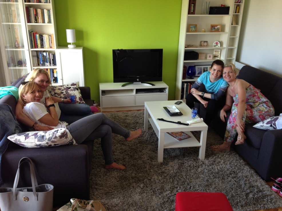 Peer group at teachers summer house