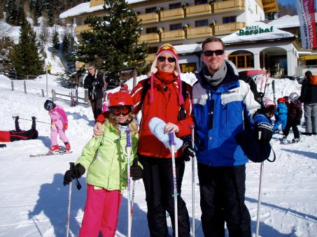 Family skiing, Innerkrems