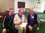 Studying with Stan Grof, Ph.D., at Joshua Tree, CA