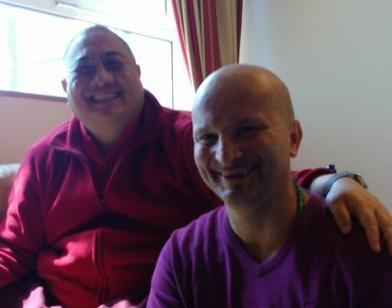 H.E. Shechen Rabjam Rinpoche i Mihajlo Pažanin