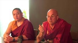 H.E. Shechen Rabjam Rinpoche i Matthieu Ricard